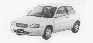 Suzuki Cultus 3DOOR 1300 FS 1999 г.