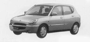 Daihatsu Storia CX 4WD 1999 г.