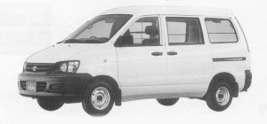 Toyota Townace VAN 2WD SUPER SINGLE JUST LOW, HIGH ROOF 1999 г.