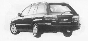 Mazda Capella Wagon SV 1999 г.