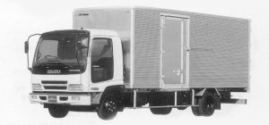 Isuzu Forward V DRY VAN 180PS 4.05T 1999 г.