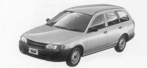 Subaru Leone VAN 1500 2WD 1999 г.