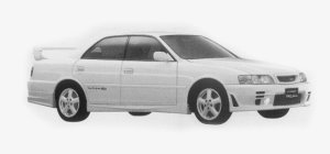 Toyota Chaser TRD SPORTS 1999 г.