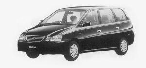 Toyota Gaia 2WD 7-SEATER, GAIA 1999 г.