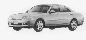 Nissan Gloria 300TX 1999 г.