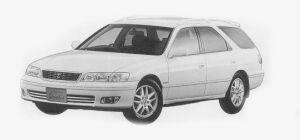 "Toyota Mark II Wagon 2.5QUALIS ""TOURER EDITION"" 1999 г."