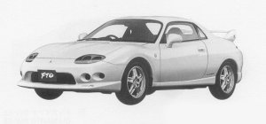 Mitsubishi FTO GP VERSION R 1999 г.