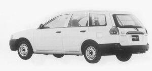 Mazda Familia VAN 1500DOHC XL (LEV SPEC) 1999 г.