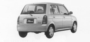 Daihatsu Mira CX 4WD 1999 г.
