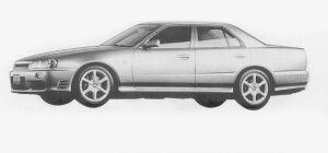 Nissan Skyline 4DOOR SPORT SEDAN 25GT-X TURBO 1999 г.