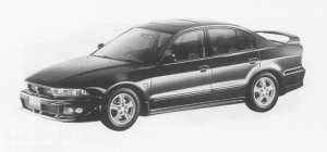 Mitsubishi Galant VR-4 TYPE-V 1999 г.