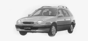 Toyota Sprinter Carib 1.6 2WD ROSSO 1999 г.