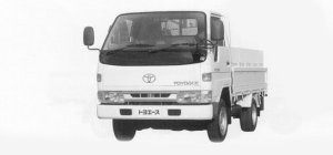 Toyota Toyoace G15 SUPER SINGLE, JUST LOW, LONG DECK 1999 г.