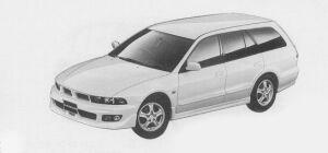 Mitsubishi Legnum 24 VIENTO 1999 г.