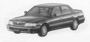 Mitsubishi Debonair EXCEED TYPE C 1999 г.