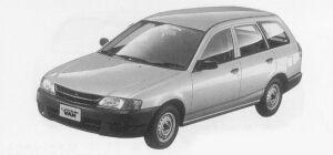 Subaru Leone VAN 2200 DIESEL 1999 г.
