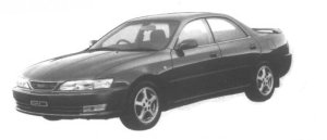 Toyota Carina ED GT Exciting version 1995 г.