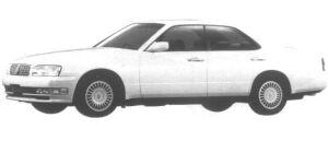 Nissan Cedric V30E Brougham 1995 г.