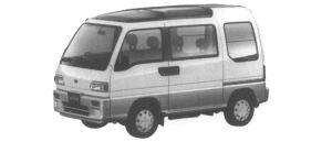 Subaru Sambar DIAS-S SUN SUN ROOF 1995 г.