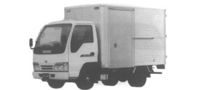 Nissan Atlas ALUMINUM DRY VAN (K TYPE) 1995 г.