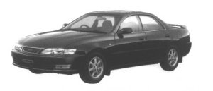 Toyota Carina ED X Exciting version 1995 г.