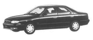 Nissan Bluebird 1800 Type Touring SV 1995 г.