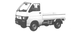 Daihatsu Hijet STANDARD 1995 г.
