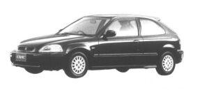 Honda Civic 3 door  Ri 1995 г.