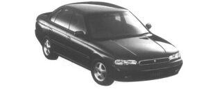 Subaru Legacy Touring Sedan Brighton GOLD 1995 г.