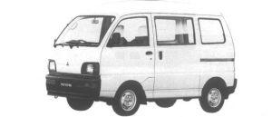Mitsubishi Minicab VAN 2WD CD HIGH ROOF 1995 г.