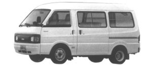 Nissan Vanette VAN 2WD FLAT FLOOR DOUBLE TIRE HIGH ROOF 1995 г.