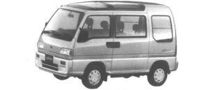 Subaru Sambar Dias II Sun Sun Roof SuperChaser 1995 г.