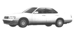 Nissan Gloria V30 Twincam Brougham 1995 г.