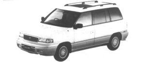 Mazda Efini MPV Type R-Touring 3000 Gasoline (7 seaters) 1995 г.