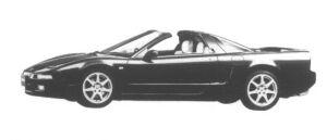 Honda NSX - T 1995 г.