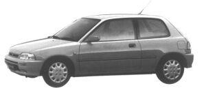 Daihatsu Charade TR 1995 г.