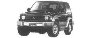 Mitsubishi Pajero MetalTop Wide XR-II 1995 г.