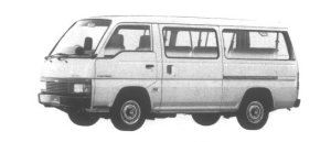 Isuzu Fargo Wagon 4WD LD Long 1995 г.