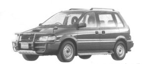 Mitsubishi RVR Super Sport Gear 1995 г.