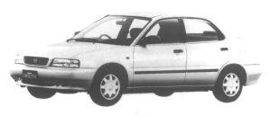 Suzuki Cultus Crescent 4 door S-4 1500 1995 г.