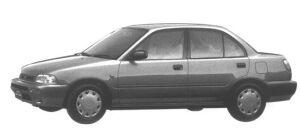 Daihatsu Charade Social SE-Extra 1995 г.