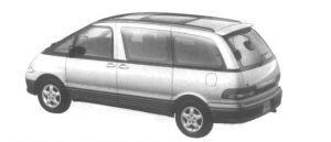 Toyota Estima Emina G Luxury Full Time 4WD 2200 Diesel Turbo 1995 г.