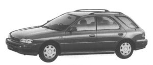 Subaru Impreza Sport Wagon 1.6L CS-X 1995 г.