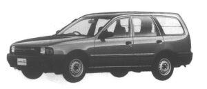 Nissan AD VAN (4DOOR) 4WD 1700 DIESEL VE 1995 г.