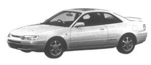 Toyota Corolla Levin BZ-G Super Strut Suspension 1995 г.