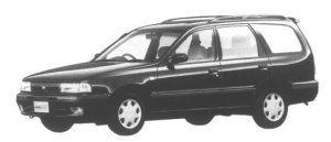 Nissan AD Wagon SLX Pack 1995 г.