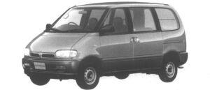 Nissan Serena CARGO 4DOOR DIESEL 2000 VX 1995 г.