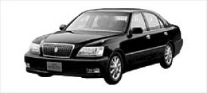 TOYOTA CROWN MAJESTA 2002 г.