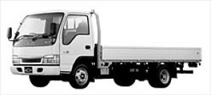 Isuzu Elf DUALMODE MT Wide Cab FLAT LOW LONG  BODY 2002 г.