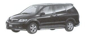 Mazda MPV VS (I 4 2.3L) 7-seaters, 4WD 2002 г.